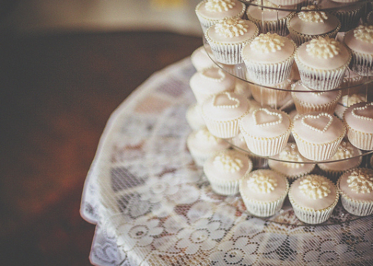 Wedding cupcakes at homme house
