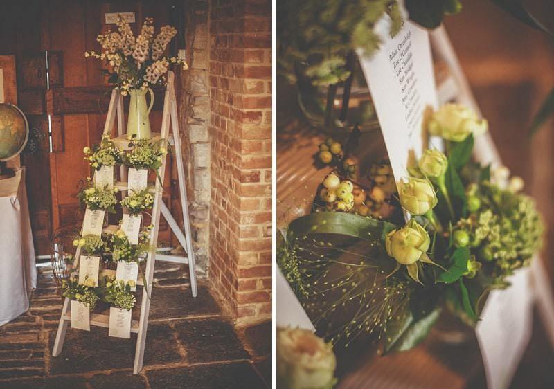 A wedding ladder