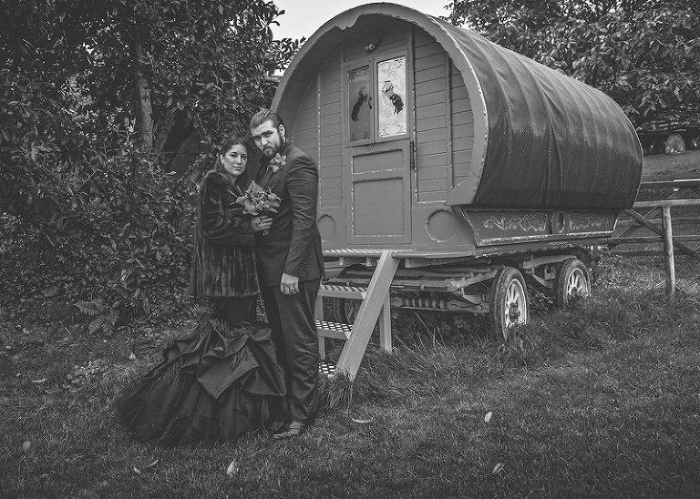Huntstile organic farm wedding photography