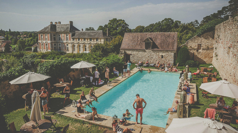 Chateau Vallery wedding photography