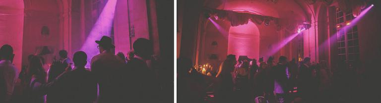 Lights hit the dancefloor