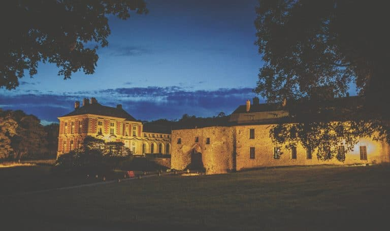 Chateau vallery at nightime