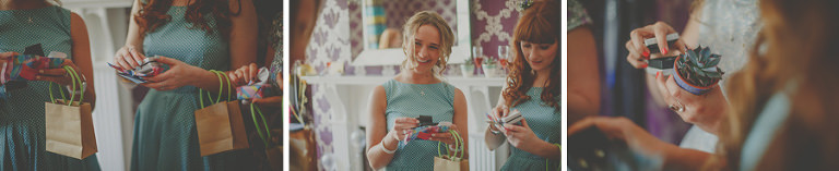 Wedding gifts for the bridesmaids