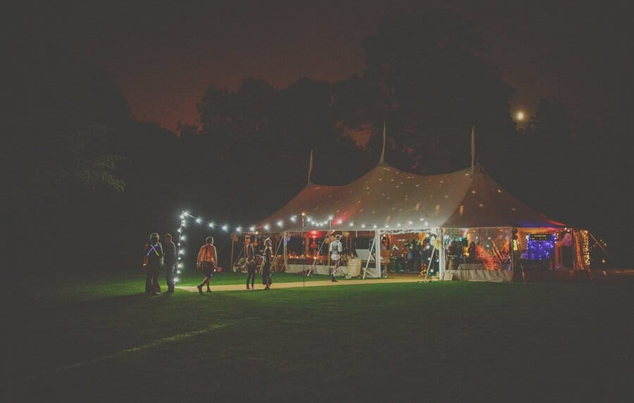 The wedding marquee