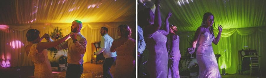 Dancing in the marquee