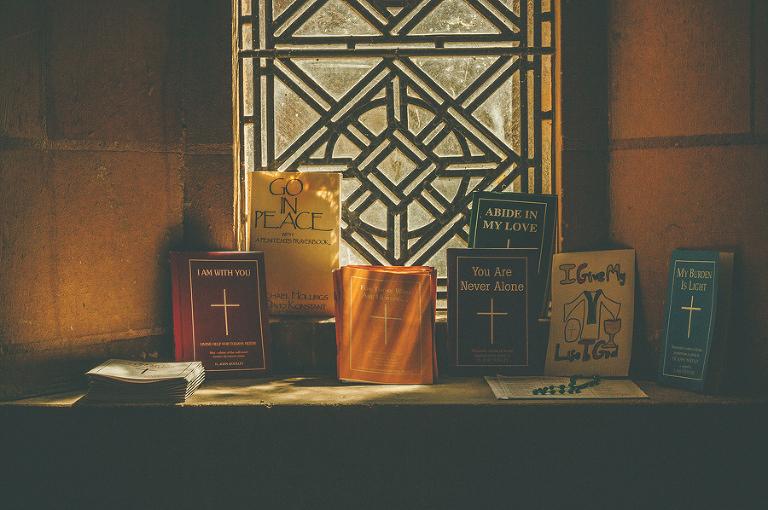 Wedding hymn books