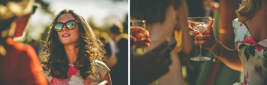 A champagne glass