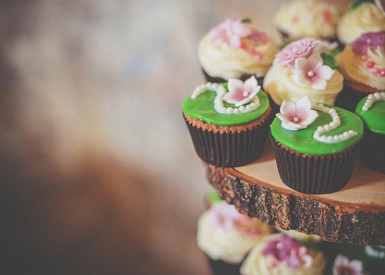 Cupcakes at Almonry Barn