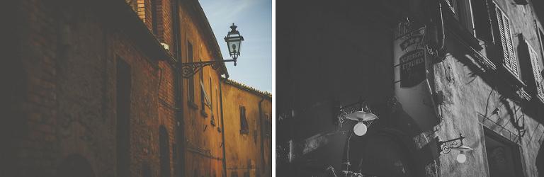 Beauitful buildings in Volterra