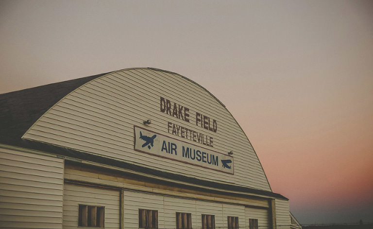 Drake field Fayetteville air museum