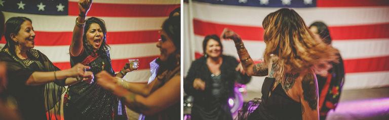 Women on the dancefloor