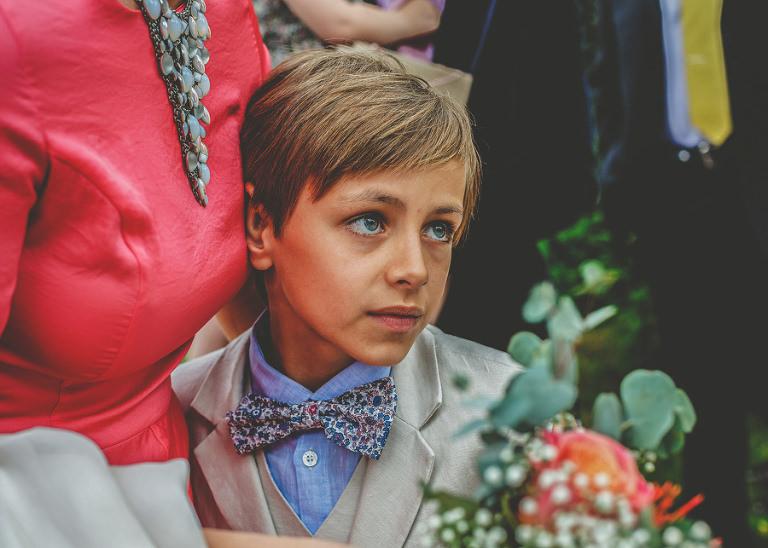 The brides nephew