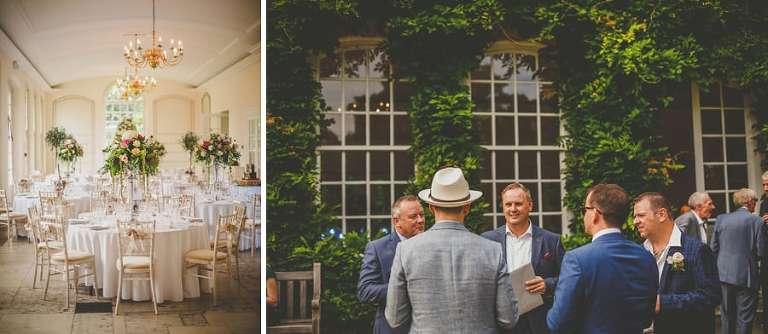 A wedding venue table in Clifton, Bristol