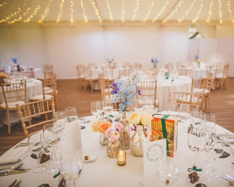 The wedding table at Fulham Palace