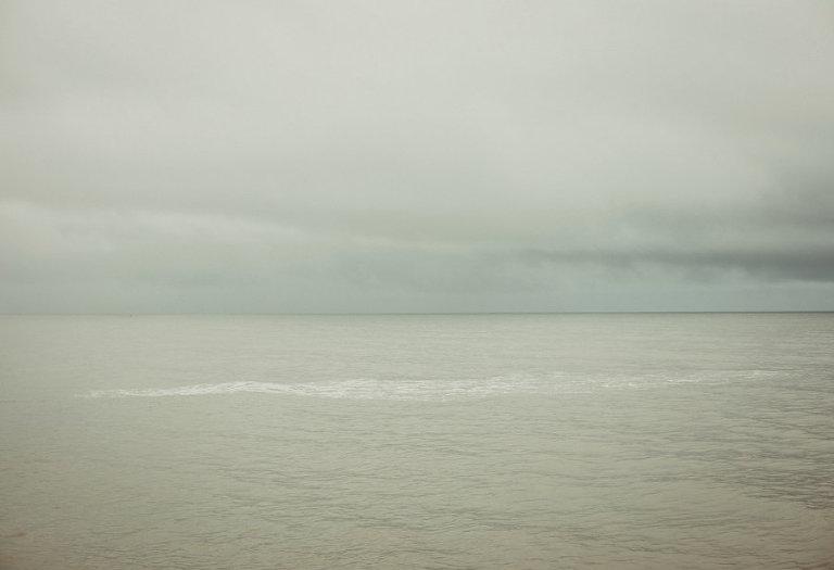 The sea at Lyme Regis in Dorset