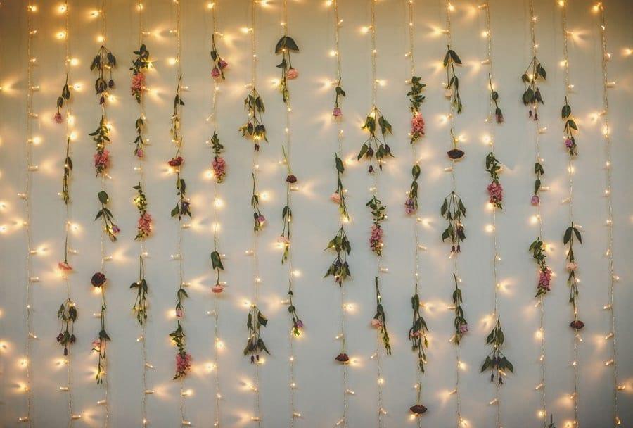Decorative lights hang from the wall at The Matara Centre