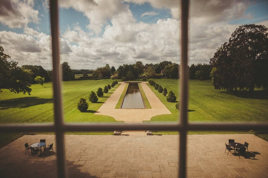 The Estate of Stubton Hall seen through the window of the Master bedroom