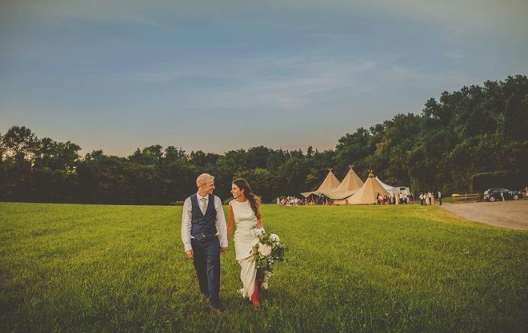 Wedding photography yurt retreat