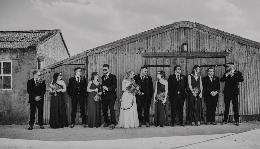 Eden Barn wedding photographers