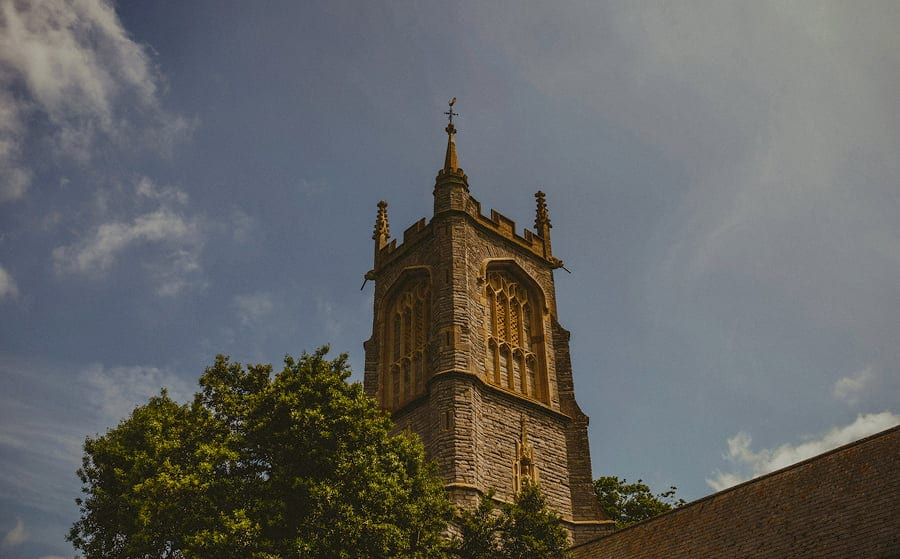 The church tower at Othery