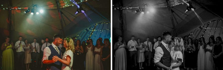 The first dance in the tipi