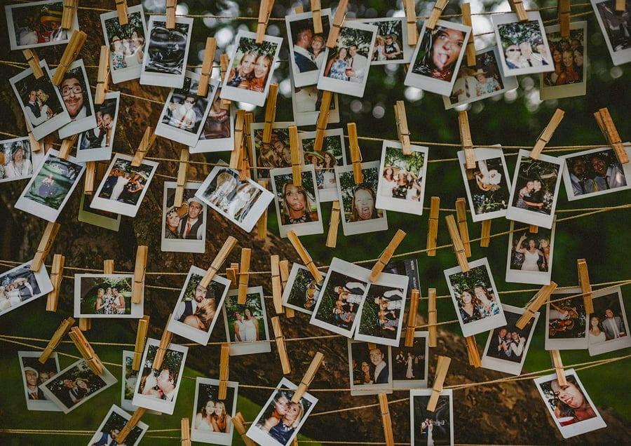 The wedding polariods